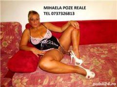 Escorte cu poze: MIHAELA POZE REALE 100%